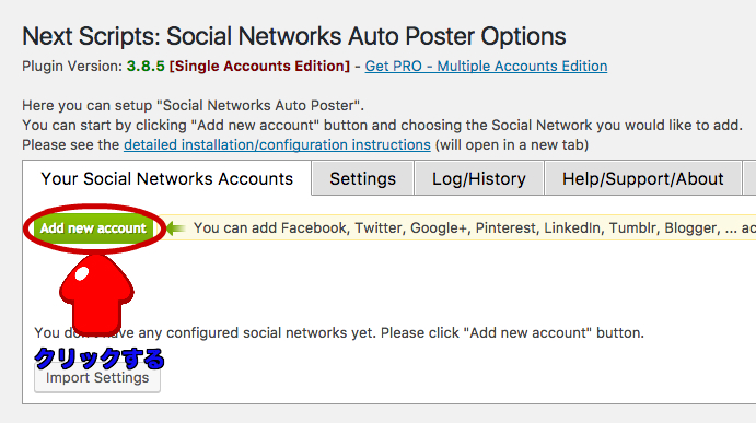 {SNAP} Social Networks Auto Poster